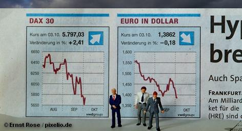 На пике карнавальных праздничных мероприятий, которые не игнорируют также и на Франкфуртской фондовой бирже, брокеры отметили сегодня падение индекса Dax. Он потерял 0,5 процента в первые минуты торгов. По мнению экспертов, причина в росте цен на нефть. Подобное положение вещей сказалось также и на акциях немецких производителей автомобилей.