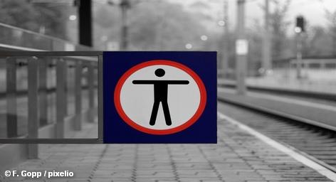 Профсоюз железнодорожников EVG провел предупредительную забастовку еще до переговоров с работодателями.