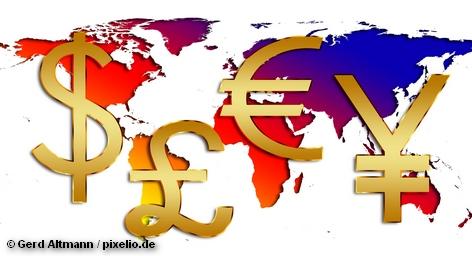 """Коллаж """"Финансы, деньги и бизнес мира"""""""