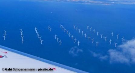 Ветровые электростанции в море