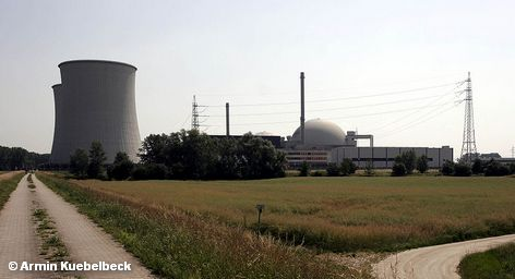 Одна из старейший немецких АЭС Библис, расположенная на берегу реки Рейн. Принадлежит и эксплуатируется концерном RWE