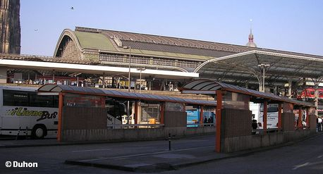 Центральный автобусный вокзал Кёльна