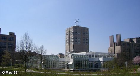Штаб-квартира концерна Daimler в Штутгарте