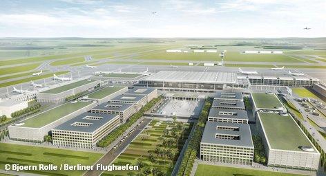 Еврокомиссия возбуждает судопроизводство против Германии по причине несоблюдения экологических норм в строящемся аэропорту Берлина.