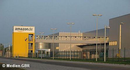 Центр Amazon в Лейпциге