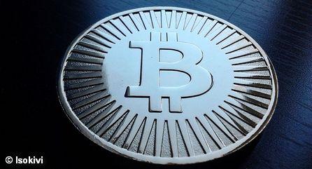 Изображение виртуальной валюты Биткойн (Bitcoin)