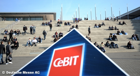 CeBIT - крупнейшая в мире ярмарка новых технологий и проводится каждую весну в Ганновере. Как самостоятельная выставка она ведет историю с 1986 года. До этого времени была частью Ганноверской ярмарки. В рамках CeBIT проводятся также многочисленные конференции, на которых компании-участники представляют себя и обсуждают текущие тенденции и события в области информационных технологий и телекоммуникаций.