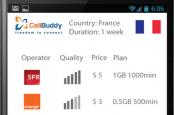Приложение для смартфонов Cell Buddy позволяет использовать местные тарифы, находясь за рубежом.