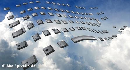 Коллаж Cloud Computing