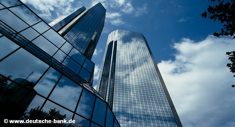 Главный офис Deutsche Bank во Франкфурте на Майне