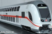 """Концерн немецких железных дорог Deutsche Bahn инвестируют 300 млн. евро в его флот поездов дальнего следования """"ИнтерСити"""" (InterCity (IC))."""