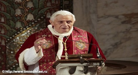О скандалах вокруг священников-педофилов он умолчал