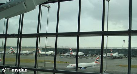 Самолеты авиакомпании British Airways в аэропорту Хитроу