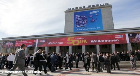 Проходящая в эти дни в Берлине 50-я выставка бытовой электроники и техники IFA 2010 - прорыв после кризисной спячки.