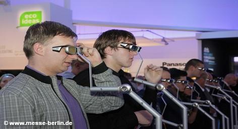 IFA 2010, на стенде Panasonic Marketing Europe GmbH