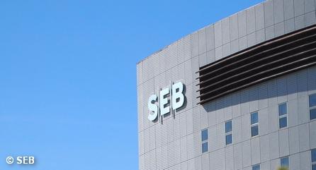 Один из офисов шведской банковской группы SEB
