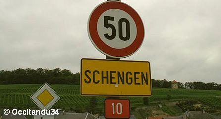 Граница Шенгенского соглашения
