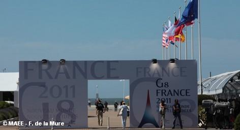 Саммит «большой восьмерки» в Довиле 26-27 мая 2011