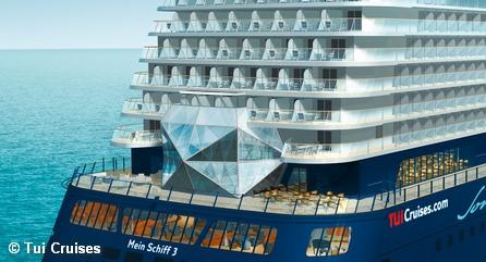 Проект круизного лайнера от Tui Cruises