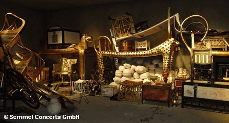 На выставке «Тутанхамон – его гробница и сокровища»