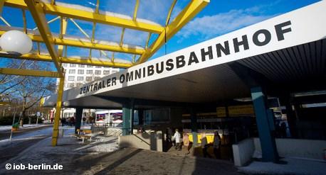 Центральный автобусный вокзал Берлина