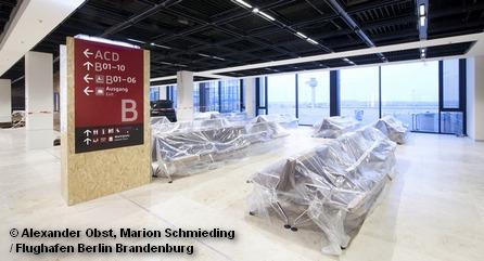 Новый недостроенный аэропорт Берлина и Бранденбурга ожидает материальной помощи еврокомиссии.