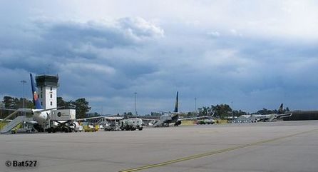 Летное поле аэропорта Карлсруэ / Баден-Баден
