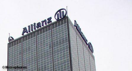 Небоскреб страховой компании Allianz в Берлине
