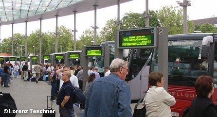 Центральный автобусный вокзал Гамбурга