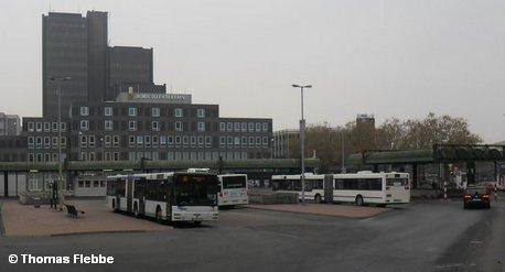 Центральный атобусный вокзал Ганновера