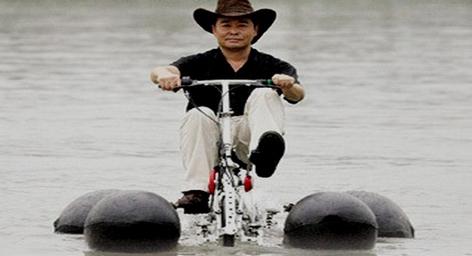 Транспортное средство, созданное 63-летним Ли Вейгуо (Li Weiguo) из провинции Хубей, отличается от стандартного велосипеда […]