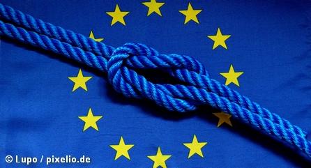 Узел на флаге Евросоюза