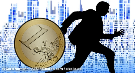 В зоне евро четко и негласно очерчены страны, в банки которых инвесторам предписывается вкалывать деньги.
