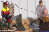 Итальянцы, испанцы и французы в среднем существенно богаче, чем немцы. К такому неожиданному и удивительному выводу пришел Бундесбанк ФРГ.