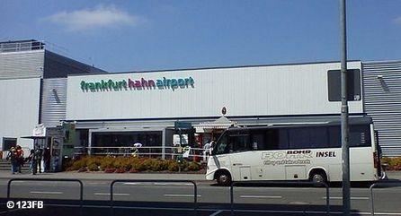 Терминал аэропорта Франкфурт / Хан