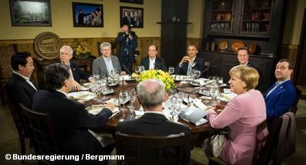 Складывается впечатление, что что-то политики на встрече в Кэм-Дэвиде утаили от общественности. А как же с НАТО и ПРО?..