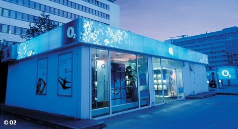 Один из магазинов O2 в Мюнхене