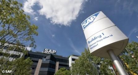 Рост SAP замедляет ухудшение конъюнктуры в Китае, что ведет к сокращению оборотов и инвестиций во всем азиатском регионе.