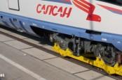 """Концерн Siemens начал производство второй партии высокоскоростных поездов """"Сапсан"""" по заказу Российских железных дорог."""