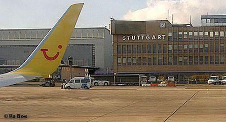 В аэропорту Штутгарта