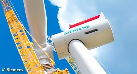 Сборка ветрогенератора от Siemens