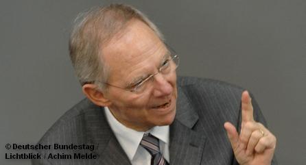 Вольфганг Шойбле намеревается продолжать политику Жана-Клода Юнкера, которая совпадает с представлениями ФРГ о том, как надо жить.