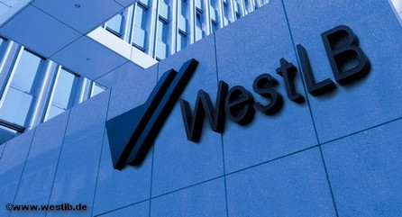 Главный офис банка WestLB в Дюссельдорфе