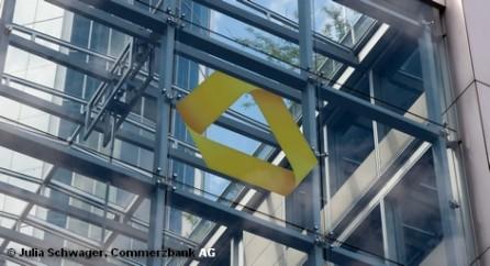Во вторник или среду ожидаются сильные колебания курса акций немецкого Commerzbank